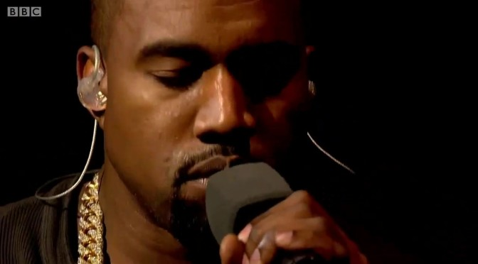 """WAKE UP JAM: #KanyeWest """"Blood On The Leaves"""" [LIVE]"""