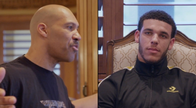 #LaVarBall calls son Lonzo 'Damaged Goods' in heated exchange! [Vid]