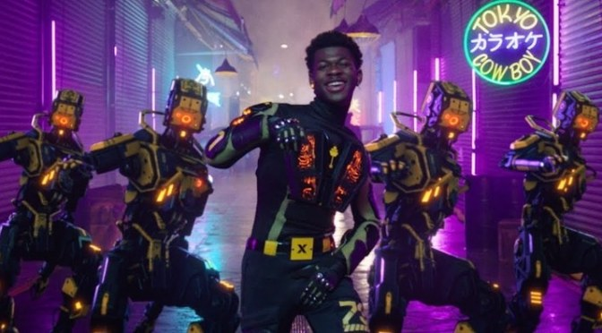 NEW VIDEO: #LilNasX 'Panini' [vid]