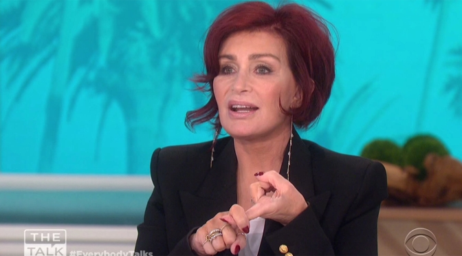 #SharonOsbourne reveals NEW FACE for #TheTalk season 10 PREMIERE! [vid]