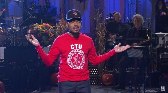 WATCH #ChanceTheRapper hosts & performs on #SNL! [vids]