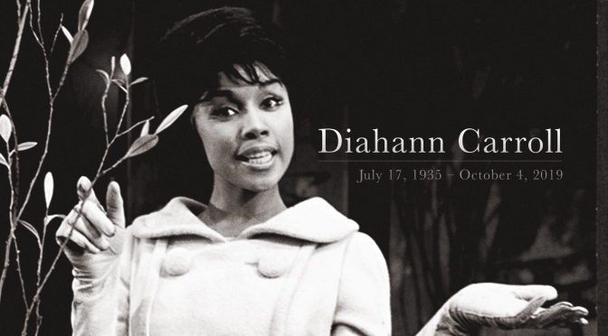 Pioneering actress #DiahannCarroll DEAD at 84!! [details]