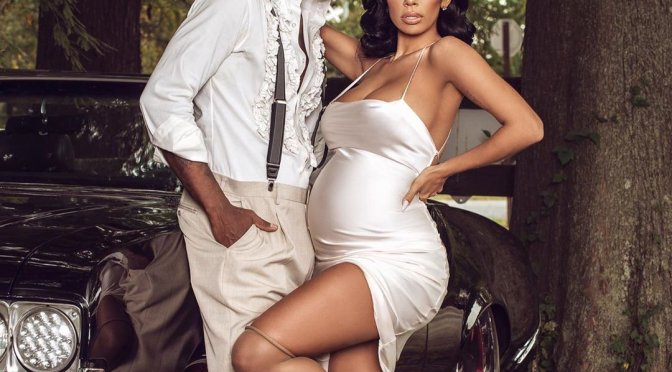 Baby Bump WATCH! #EricaMena & #Safaree confirm pregnancy in FAB Photo shoot! [Pics]