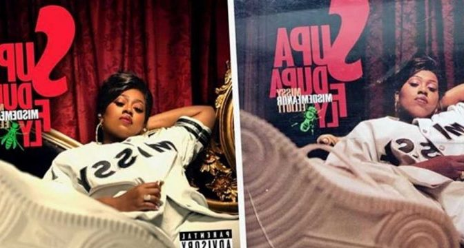 Still Supa Dupa! #MissyElliott recreates her iconic debut album cover 22 years later! [Pic]
