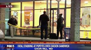 #Popeyes SILENT after man STABBED to death trying to acquire their sandwich! [DETAILS]