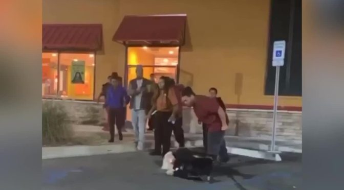 Woman gets body-slammed at #Popeyes by employee for saying the 'N-word's [Vid]