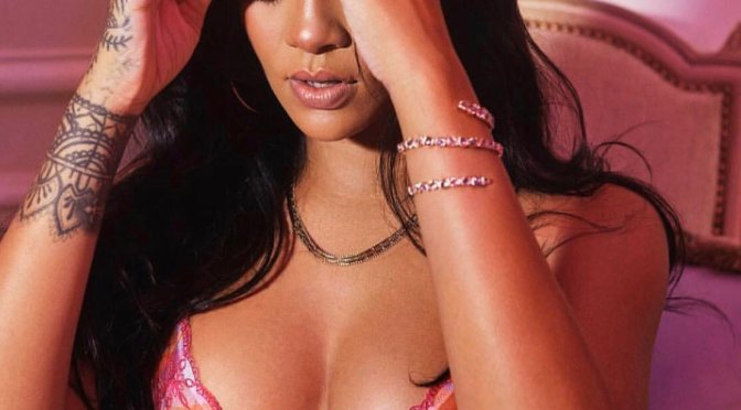 HOT SHOT of The Day: #SavagexRihanna- Riri in a bra & panties! [Pics]