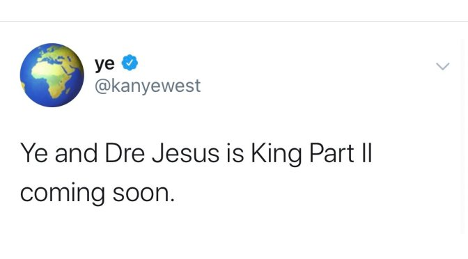 #Kanye links with #DrDre for #JesusIsKing 2! [details]