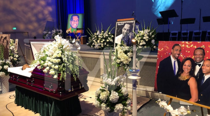 Legendary comedian, actor, #JohnWitherspoon laid to rest by family & friends! [Vid]