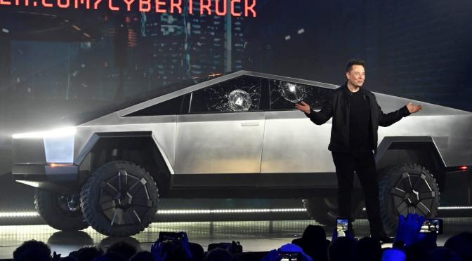 #Tesla unveils their #Cybertruck! Are we feeling it though? [Details]
