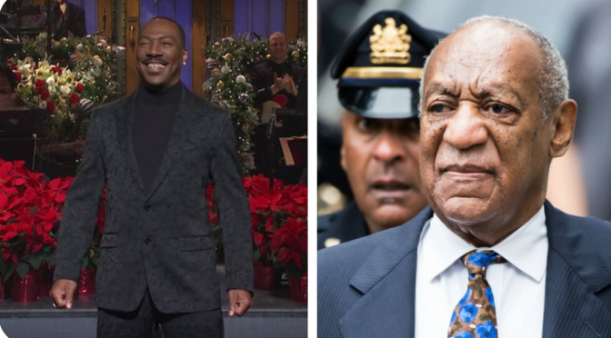 #BillCosby publicists SLAMS #EddieMurphy over #SNL monologue joke! [Details]
