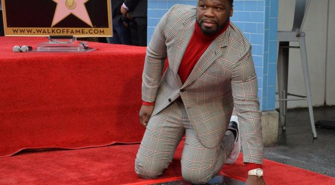 #50Cent RECEIVES a STAR on the #HollywoodWalkofFame! [vid]