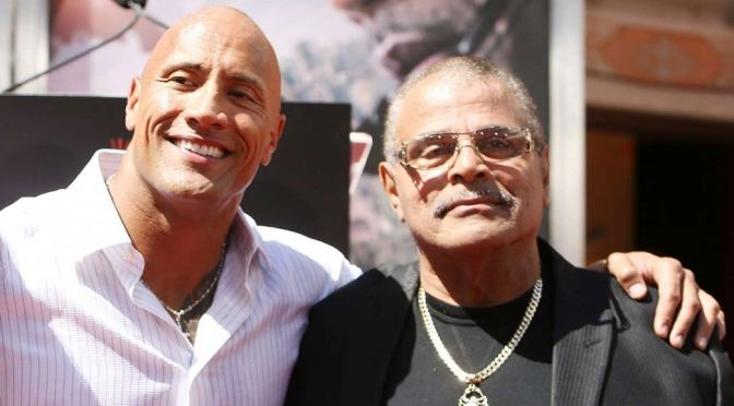 #TheRock's father, #RockyJohnson, DEAD at 75! [Details]