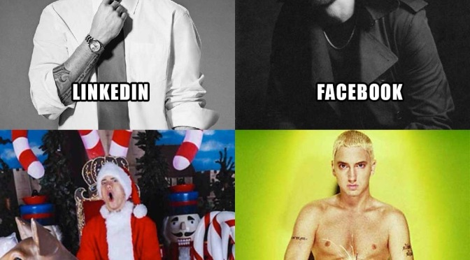 #Eminem does the #DollyPartonChallenge with a #Grindr twist! [Details]