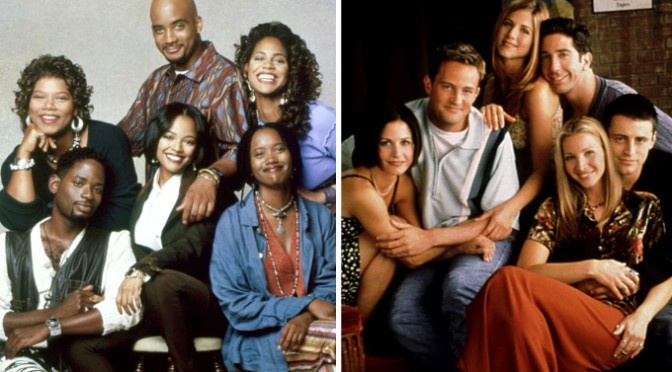 #LivingSingle's #ErikaAlexander REMINDS #DavidSchwimmer where they got the TEMPLATE for #Friends from! [details]