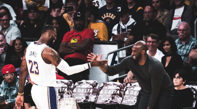 #LeBronJames reflects on #KobeBryant in moving post![details]