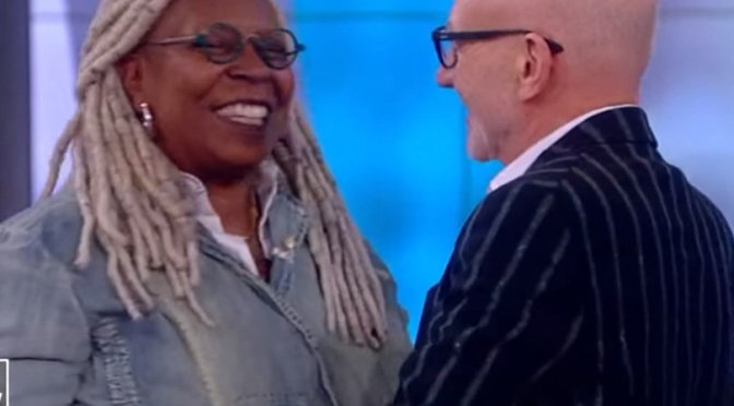 #WhoopiGoldberg gets emotional when #PatrickStewart asks her to return to #StarTrekPicard! [Vid]
