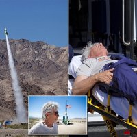 Daredevil #MadMike Hughes DIES when his homemade rocket crashed trying to prove Earth was flat! [NSFW vid]