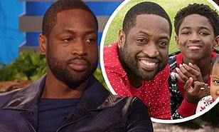 #DwyaneWade reveals his 12-yr old child wants to go by 'Zaya' now! [Vid]