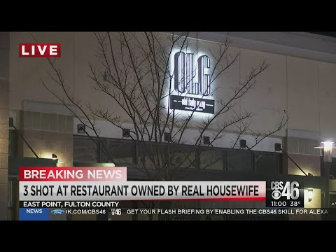 3 INJURED in #ValentinesDay shooting at #KandiBurruss' #OLG eatery! [Details]