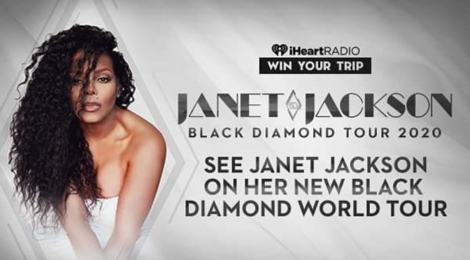 CONFIRMED! #JanetJackson to launch #BlackDiamondTour and new album in 2020! [Details]