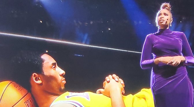 #AllStarGame: #JenniferHudson renders MOVING tribute to #KobeBryant! [Vid]