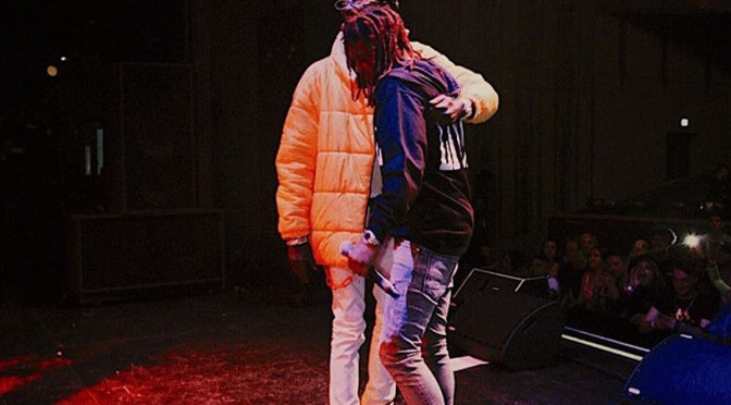 #Slime: #YoungThug & #LilKeed kissing? [Vid]