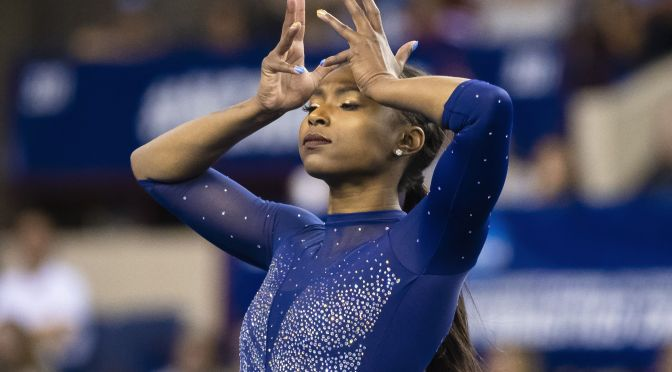 UCLA gymnast @DennisNia WOWS with floor routine set to #Beyonce's 'Homecoming' [Vid]