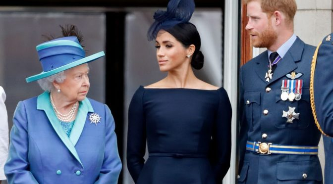 The Queen BLOCKS #PrinceHarry & #MeghanMarkle from using 'ROYAL' in branding! [Details]