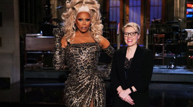 #SNL #Rupaul (in full drag) SNL promos! [Vid]