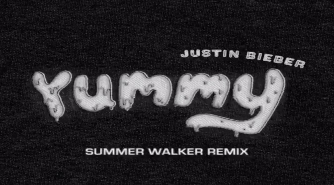 NEW MUSIC: #JustinBieber 'Yummy' feat. #SummerWalker [lyric vid]