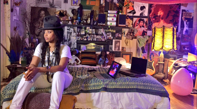 #ErykahBadu to launch #Quarantine concert LIVE from her BEDROOM! [Vid]