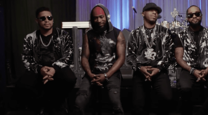 #Unsung LIVE #DruHill sings 'In My Bed' [live]