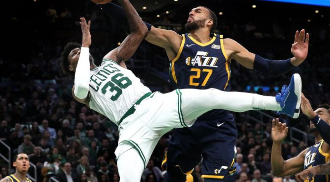 #NBA SUSPENDS season after #Utahjazz player #RudyCobert tests positive for #Coronavirus! [Details]