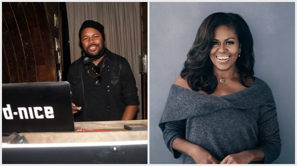 #Dnice & #MichelleObama #Couchparty going down NOW! [LIVE VID]