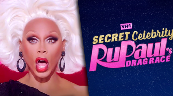 RuPaul's Secret #CelebDragRace season 1 ep 4 'Dragzilla' [FULL]