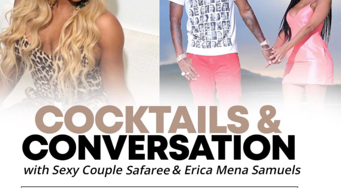 #CocktailsandConversation with #NeneLeakes & #Safaree #EricaMena LIVE now! [LIVE STREAM]