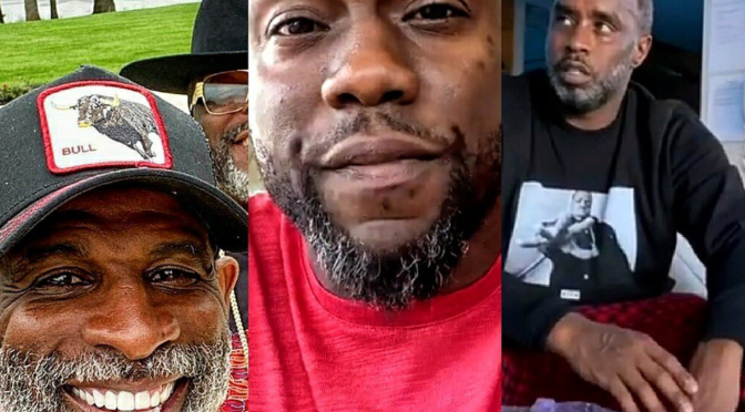 #Diddy #KevinHart #DeionSanders & more going GREY in QUARANTINE! #50Cent clowns them! [Vid]