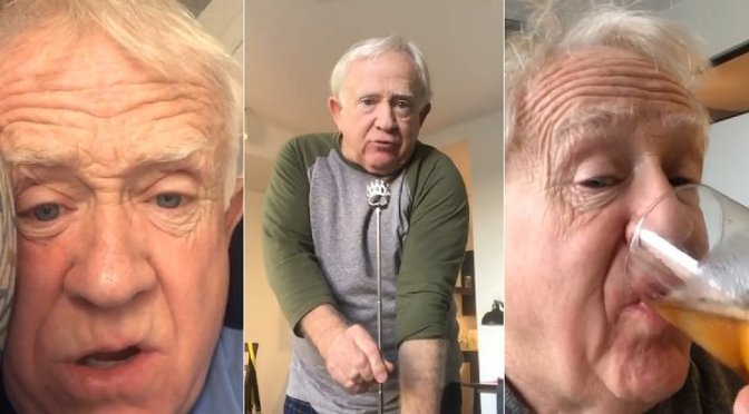 #WillandGrace star #LeslieJordan's QUARANTINE musings are TOO FUNNY to pass up! [Vid]