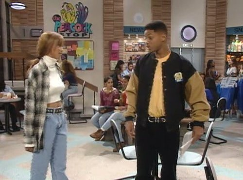 #WillSmith & #TyraBanks recreate their ICONIC #FreshPrince scene 30 years later!
