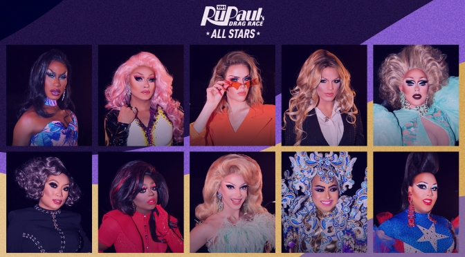 RuPaul's #Dragrace #AllStars5 Queens RU-vealed! [Pic]