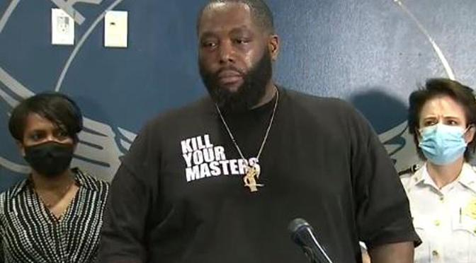 Activist/Rapper #KillerMike offers a POWERFUL speech in light of the #AtlantaProtests & #GeorgeFloyd MURDER! [Vid]