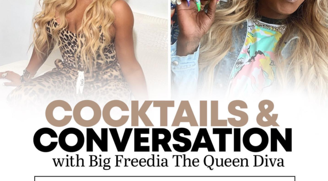 #CocktailsandConversation with @NeneLeakes & @BigFreedia LIVE at 8pm! [LIVE STREAM]