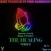 #Verzuz #KirkFranklin vs #FredHammond with guest #TDJakes NOW! [details]