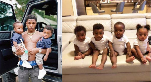 #NBAYoungBoy father of 5 at 20 WELCOMES two more kids…in the same week! [Details]