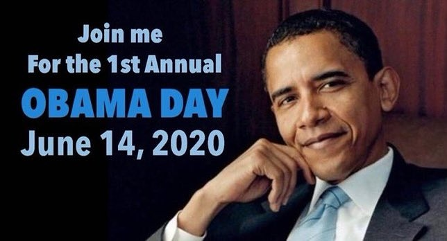 #ObamaDayJune14th is trending on #Trump's birthday! [Obama Appreciation Post]