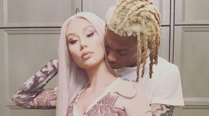 It's A Boy! #IggyAzalea welcomes 1st son with #PlayboiCarti! [details]