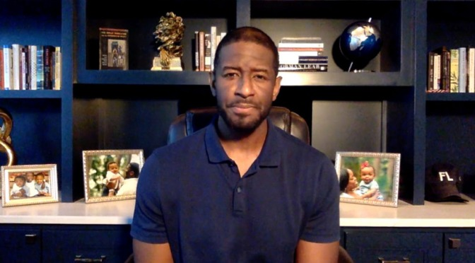 Former Florida mayor #AndrewGillum speaks out about life after rehab! [Vid]