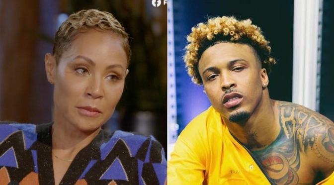#AugustAlsina RESPONDS to #JadaPinkettSmith's DENIAL of their romantic relationship! [Details]