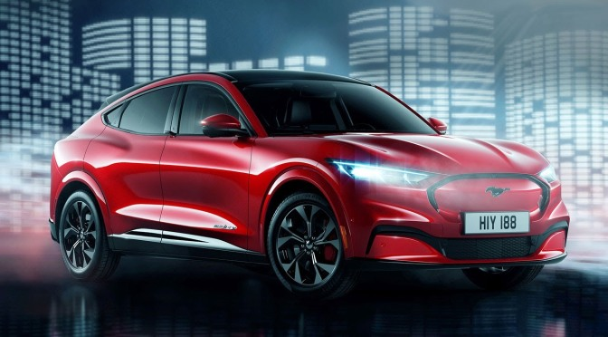 #Ford unveiling an ALL-ELECTRIC #Mustang SUV in 2021! [Details]